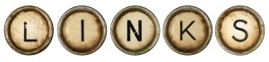 das Wort Links als Buchstaben dargestellt